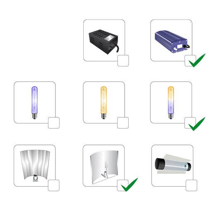 Kit de iluminación a medida