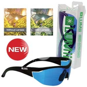 Gafas LUMii Growroom lenses
