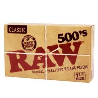 Raw 500 paper