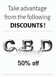 cbd seeds discounts