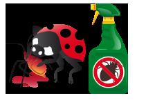 Combat marijuana pests