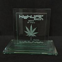 3er premio HighLife 2004 Categoría Hash kali Mist