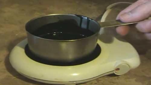 calentador de aceite