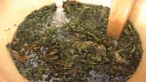 mezcla aceite de marihuana