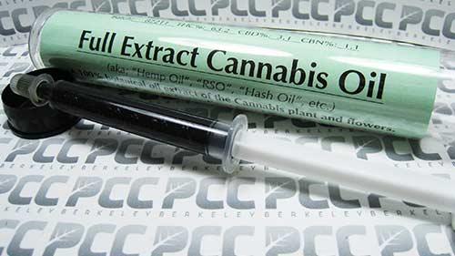 extracto de aceite de cannabis